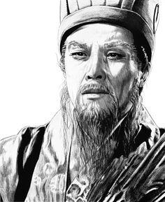 Zhuge Liang Portrait by Ahyicodae