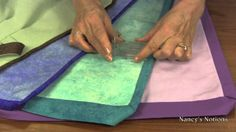 Sew quilt binding quickly and accurately