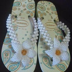 havaianas decoradas - Pesquisa Google