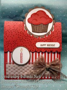 "Stampin' it up with Belinda: Flip Flap Fold Card ""Sprinkles of Life"" Flip Cards, Fun Fold Cards, Folded Cards, Handmade Birthday Cards, Happy Birthday Cards, Greeting Cards Handmade, Card Making Inspiration, Making Ideas, Stamping Up Cards"