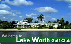 It's always tee time in Lake Worth! Lake Worth Golf Club is a waterfront public golf course complete with ER Bradley's Beach Club Restaurant. Visit http://lakeworth.phantomgolf.com/ for more information.