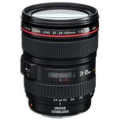 ''Canon EF 24-105mm f/4 L IS USM Lens (white box) for Canon EOS Digital SLR…