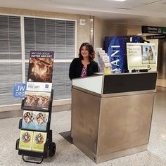 Me and my wife doing the Public Witnessing Booth for the first day of the Memorial campaign at Hobby Airport in Houston Texas US. Photo shared by @mt_luna