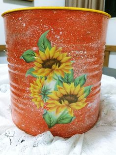 1 million+ Stunning Free Images to Use Anywhere Tin Can Crafts, Arts And Crafts, Diy Crafts, Decoupage Jars, Pioneer Woman Kitchen, Altered Tins, Free To Use Images, Autumn Painting, Clay Pots