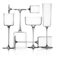 Arles collection glassware