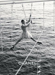 Obsessed with Joan Smalls in the new Chanel campaign. Obsessed with Joan Smalls in the new Chanel campaign. Campaign Fashion, Ad Fashion, Editorial Fashion, Luxury Fashion Brands, Fashion Posters, Lifestyle Fashion, Fashion Beauty, Fashion Advertising, Advertising Campaign