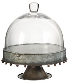 A&B Home Group, Inc Cake Stand with Glass Dome & Reviews   Wayfair