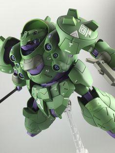 GUNDAM GUY: HG 1/144 Gundam Gusion & Man Rodi - Painted Build