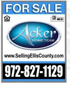 Deciding to sell your home can be an emotional decision.  Don't take it personal, it is a business transaction. We are Realtors in Ellis County, and we would love to help you with all your real estate needs. Buying, Selling, or Living in Ellis County We are Selling Ellis County