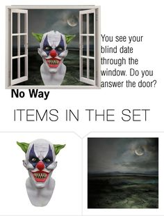 """""""Do you answer the door?"""" by barebear1965 ❤ liked on Polyvore featuring art"""