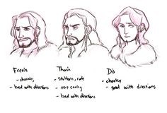 the hobbit bilbo baggins thorin oakenshield my doodles thilbo bagginshield dis line of durin frerin