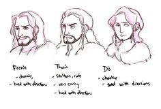 the hobbit bilbo baggins thorin oakenshield my doodles thilbo bagginshield dis line of durin frerin