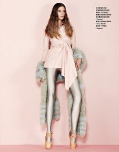 Estee Rammant by Naomi Yang for Vogue Taiwan March 2014 [Editorial] - Fashion Copious