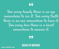 """""""For every beauty there is an eye somewhere to see it. For every truth there is an ear somewhere to hear it. For every love there is a heart somewhere to receive it"""" ― Ivan Panin #Quoteoftheday #inpiration #skincare #Quotes #VIIcode #eye #eyemask"""