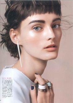 Vogue Japan November 2014 | #sibui nazarenko by yoshihito sasaguchi
