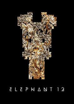 The official logo Elephant 12 official logo Electronic Music, Punk Rock, Rock Bands, Elephant, Logo, Bracelets, Jewelry, Logos, Jewels