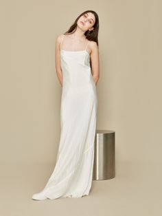 Ivory Isabelle Slip   A La Robe   NOT JUST A LABEL