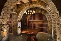 wine cellar Jimmy Franks Homes
