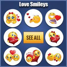 Love smileys