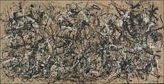 Autumn Rhythm (Number 30) by Jackson Pollock, 1950, enamel on canvas. The Metropolitan Museum of Art.