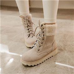 ericdress lacent belles bottes de neige