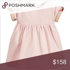 BURBERRY BABY GIRL PINK DRESS 6 month Super cute Baby Burberry Girls Dress. 6 month. New with tags Burberry Dresses Casual