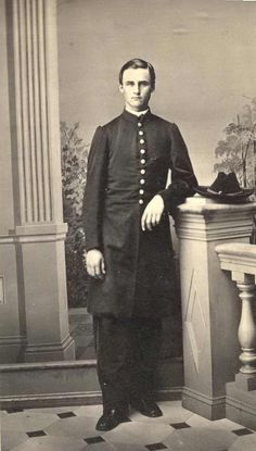 Frederick Hyde Ferris (1843-1925) in his Civil War uniform. The oldest child of G.W.G. Ferris, Sr., and Martha Ferris, he served in the 33rd Illinois Regiment. This photo was taken in New Orleans, probably in 1863.
