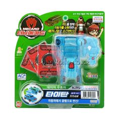 #TurningMecard #Titan #Bluever #Transformer Robot #Korea TV Animation Car Toy