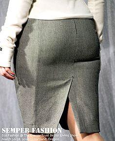 Выкройки больших размеров. Выкройка юбки для полных.