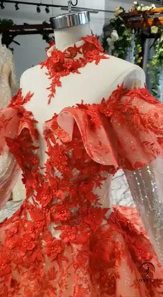 Customized Dress Whatsapp: Source by thejoyofbestliving dress videos Red Wedding Gowns, Wedding Party Dresses, Wedding Shot, Wedding Music, Wedding Reception, Dream Wedding, Pretty Prom Dresses, Beautiful Dresses, Nice Dresses