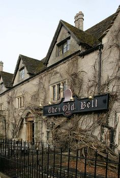 the old bell, malmsbury.. oldest hotel in england built on the remains of outbuildings of the abbey.. 1220...