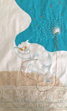Ilustración textil para subasta de aniversario de Victoria 147