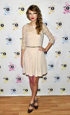 "Taylor Swift at the ""Teen Awards"" in London"