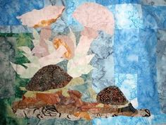 Over in the Meadow Applique quilt pattern $5.00