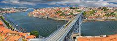 crossing the bridge │cruzando el puente, Porto, Portugal by jesuscm