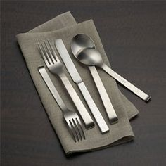 Maxwell's Top Flatware Picks: Very High to Very Low — Best Flatware 2014  CB2's Aviation 20 Pcs for $60