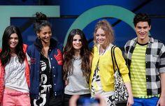 "Selena Gomez and Adidas' collaboration ""Neo' is shown at New York Fashion Week, Fall 2013. #salenagomez #newyorkfashionweek #fallfashion #adidas #neo"
