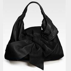 Spotted while shopping on Poshmark  Authentic Valentino leather bow purse!   poshmark  fashion 75c65bf59f