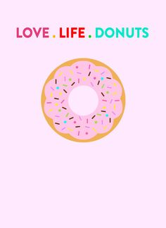 live-life-donuts-print National Donut Day is June 6