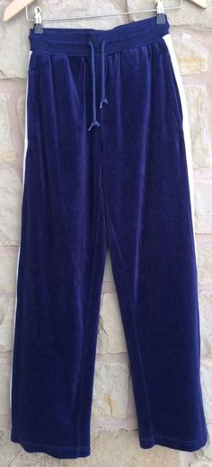 Womens NFL Dallas Cowboys Football Sweatpants Velour Loungers Size Small Navy  #DallasCowboys #TrackSweatPants