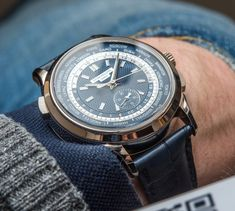 Patek Philippe 5930G (5930) Chronograph World Time Watch Hands-On Hands-On
