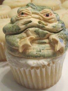 I see your cupcake recipe, and raise you.   Hay lapa no ya, Solo! Hoo Hoo Hooo!