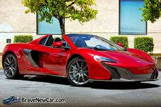 2015 McLaren Special Operations 650S Volcano Red  http://bravenewcarz.com/2015-mclaren-special-operations-650s/