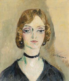 Portrait De Femme. Kees van Dongen (1877 - 1968)