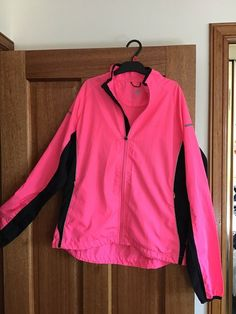 853c790a43 Karrimor Running Jacket- Used But In Good Condition- Neon Pink- Size 6  Ladies