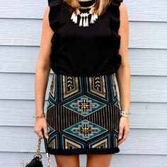 The Beaded Skirt