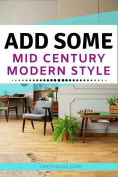Love Mid Century Modern design? Learn how to add some of that great retro vintage look to your own home with these great home MidMod home decor pieces that are under $150 - and most are under $50 - from Amazon Mid Century Modern Decor, Own Home, Decorating Your Home, Mid-century Modern, Retro Vintage, Decor Ideas, Amazon, Home Decor, Homemade Home Decor