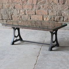 Ashburnham Industrial Reclaimed Wood Coffee Table