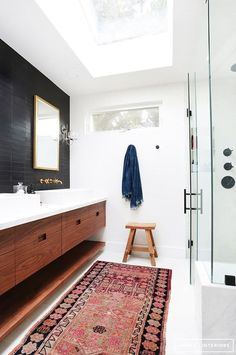 There is absolutely no need for your bathroom to be blah. Grab these three things (you probably already have them around the house) and make this room stand out!