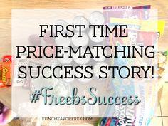 Freeb Success story - price-matching success!